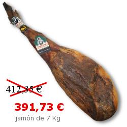 Jamón de Jabugo ibérico de bellota 5J Cinco Jotas