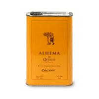 Foto de una lata de Aceite de Oliva Virgen Extra ALHEMA DE QUEILES