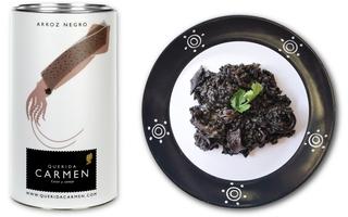 Foto de un arroz negro