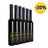 6 x Aceite de oliva virgen extra ecológico Oleura arbequina 500 ml