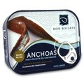 Cantabrian Anchovies Don Bocarte in Olive Oil, Low-salt (85 gr - 13/15 fillets)