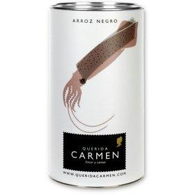 Black rice paella Querida Carmen