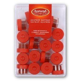 Pure Saffron powder Azafranda Amanecer, 20 capsule of 0.250 each