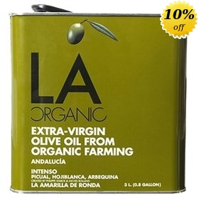 Organic Extra Virgin Olive Oil La Organic Original (Intense) 3 litres