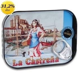 Filetes de anchoa del Cantábrico en aceite de oliva La Castreña 78 gr