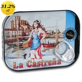 Cantabrian Anchovy Fillets in Olive Oil La Castreña 78 gr