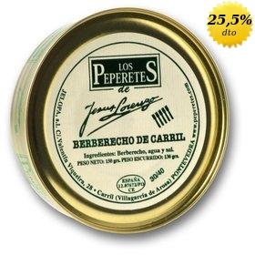 Berberechos de Carril Los Peperetes 30/40 uds. 150 gr