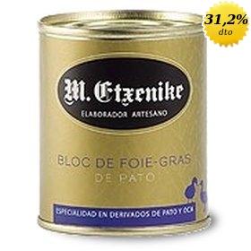 Bloc de foie-gras de pato M. Etxenike 130 gr