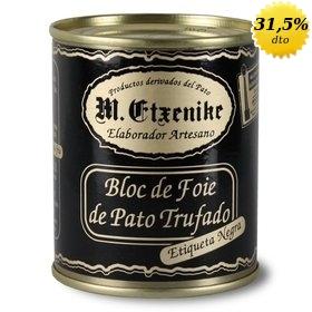 Bloc de foie de pato trufado M. Etxenike 130 gr