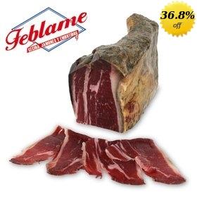 Cecina de León Feblame (smoked cured beef)