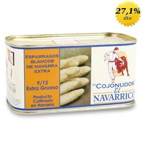 Espárragos de Navarra El Navarrico Cojonudos 9/12 uds.