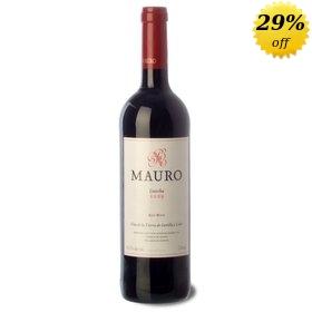 Castilla y León Red Crianza wine Mauro 2010