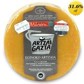 Artzai Gazta PDO Idiazabal Smoked Sheep Milk Cheese