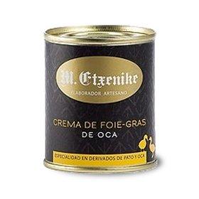 Crema de foie-gras de oca M. Etxenike 140 gr