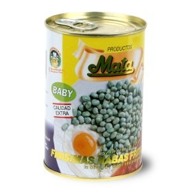 Baby fried beans in olive oil Mata 420 gr