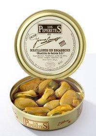 Lata mejillones en escabeche Los Peperetes