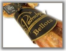 Precinto y Vitola que certifican la calidad Bellota de la denominación de origen Los Pedroches