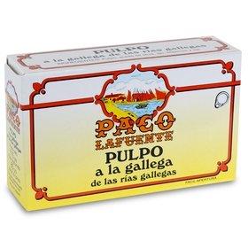 Pulpo a la gallega de las Rías Gallegas Paco Lafuente 115 gr