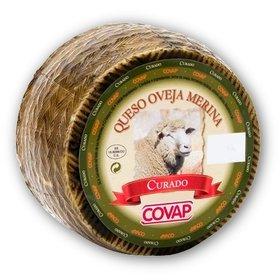 Covap merino sheep milk cheese