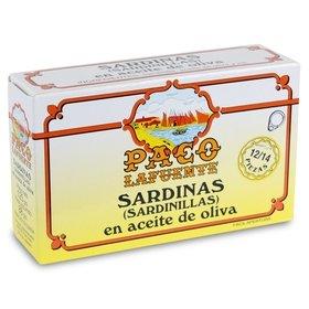 Sardinillas en aceite de oliva Paco Lafuente 12/14 uds. 125 gr